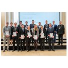 Graduates of Faculty 4 – Mechanical, Process and Energy Engineering, with Rector