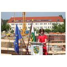 Science Minister Dr. Eva-Maria Stange at her welcoming address