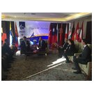 Interview between the Freiberg delegation and the President of MUST