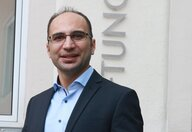 Amir Mohammad recieves the DAAD-Prize 2020. Picture: TU Bergakademie Freiberg