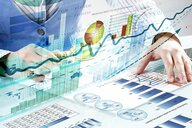 """Image: """"Financial analysis and forecast"""". Photo: Sergey Nive"""