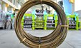 Coils of wire: The technical principles for the production of these coils were e