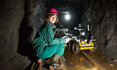 "Girl in ""Reiche Zeche"" research and education mine"
