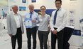 Picture Certificate Awarding Ceremony to BHS-Sonthofen GmbH