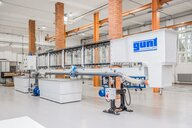 New water channel in the laboratory of the Chair of Fluid Mechanics and Turbomachinery