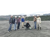 Group Picture in a Vietnamese Mine