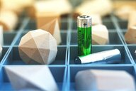 Batteries and crystallography