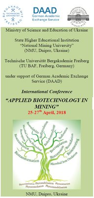 Flyer frontpage Biomining Conference 2018