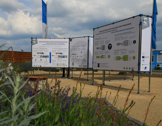 Infoboards des Carbon Discovery Trails