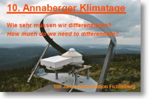 10th Annaberg Climate Days, How much do we need to differentiate?