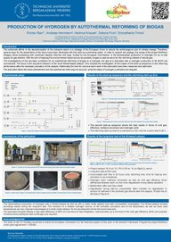 Poster Production of Hydrogen by Autohermal Reforming of Biogas