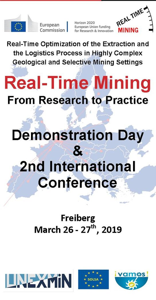 Cover picture Real-Time Mining Conference