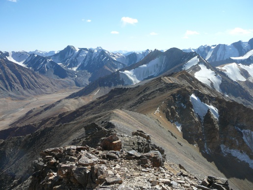 View over the Muskol range