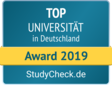 Gütesiegel Top Universität 2019