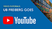 YouTube-Channel University Library Freiberg
