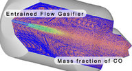 Reacting flow systems